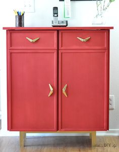 This IKEA IVAR cabinet makeover is a total transformation!