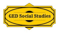 GED Social Studies Study Guide
