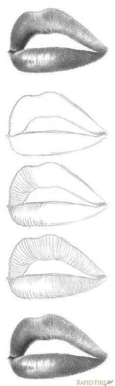 Portrait Au Crayon, Pencil Portrait Drawing, Pencil Art Drawings, Realistic Drawings, Art Drawings Sketches, Easy Drawings, Drawing Portraits, How To Shade Drawings, Drawing Faces