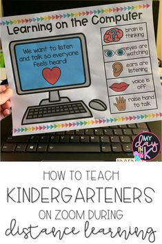How to Teach Kindergartners on Zoom - My Day in K