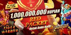 SPADEGAMING - Promosi Red Packet Tiger Warrior & Zeus