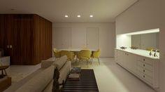 Apartamento Ahú 61, projetado para um jovem casal