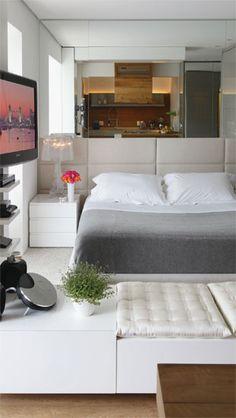 42 m² cheios de personalidade neste miniloft - Casa
