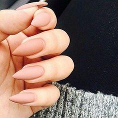 Znalezione obrazy dla zapytania paznokcie cieliste matowe