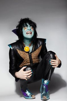 One of my heroes, Noel Fielding. (Luxury Comedy, Oooh Yeah...)