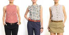 Patrones para blusas sencillas - Imagui