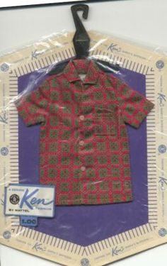 Patterned Print Shirt - Red 1962
