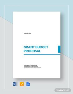Nonprofit Grant Proposal Template - Word | Google Docs | Apple (MAC) Pages | Template.net Free Business Proposal Template, Proposal Templates, Notes Template, Card Templates, Baseball Card Template, Trading Card Template, Accountant Resume, Soap Note, Education Grants