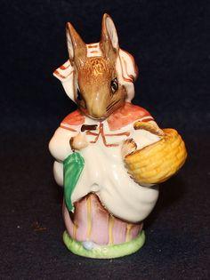 Beatrix Potter's Mrs. Rabbit 1951 Beswick Figurine
