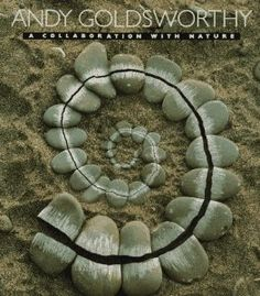 Book, A Collaboration with Nature by Andy Goldsworthy (uses natural materials in sculptures) Fibonacci Spiral