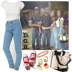 """""""I'm reminiscing, wanna feel it 2night. I'm in your hood!"""" by dopegenhope on Polyvore"""