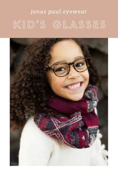 8f5d03f96f Wintery eyeglasses for your stylish children! Jonas Paul Eyewear offers  kids glasses for boys and