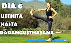 Elena Malova: Día 6 - Utthita Hasta Padangusthasana Yoga Challenge #malovayogachallenge1