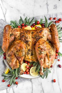 how to spatchcock a turkey & roast a turkey this thanksgiving! a miracle method for roasting your thanksgiving, friendsgiving, or holiday dinner turkey. Thanksgiving Turkey, Thanksgiving Recipes, Christmas Recipes, Fall Recipes, Dinner Recipes, Duck Recipes, Thanksgiving Decorations, Holiday Recipes, Dinner Ideas