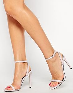 ASOS HEADS OR TAILS Heeled Sandals $66