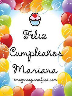 Imágenes de Feliz Cumpleaños Mariana - http://www.xn--felicitacionesdecumpleao-nlc.com/imagenes-de-feliz-cumpleanos-mariana/