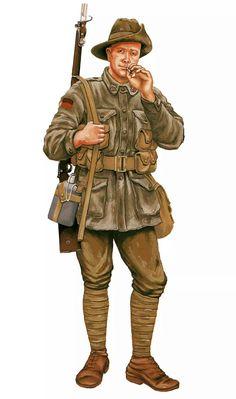 ANZAC soldier Gallipoli 1915, pin by Paolo Marzioli