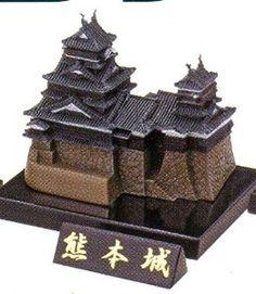 Capsule Toy KAIYODO CapsuleQ CAPSULE MUSEUM Japanese Castle Directory Volume 1 #3 KUMAMOTO CASTLE Original Color