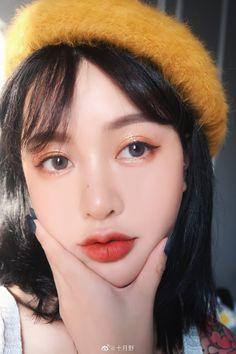 Makeup Inspo, Makeup Inspiration, Beauty Makeup, Hair Makeup, Korea Makeup, Asian Makeup, Eyebrow Makeup, Eyeshadow Makeup, Ulzzang Makeup