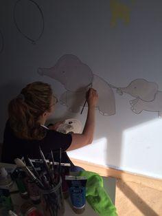 Murales by Gema Lopez S Selfie, Mirror, Academia, Murals, Decorations, Kids Rooms, Child Room, Mirrors, Selfies