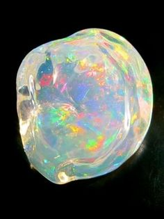Crystal Ice - Mexican Fire Opal
