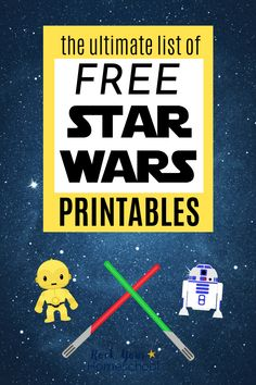 Enjoy stellar fun with this Ultimate List of Star Wars Printables. So many activities, games, & more to enjoy with your Star Wars fans! #freestarwarsprintables #freestarwarsactivities #starwarsprintables Star Wars Day, School Fun, Fun Learning, Fun Activities, Holiday Fun, Fans, Game Room, Starwars, Homeschooling
