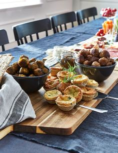 Forget laboring over the stove. IKEA has a selection of delicious hot items like cheese pies, meatballs and veggie balls.