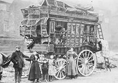 Waggons can be divided into 6 main types - the Brush, Reading, Ledge, Bowtop, Openlot and Burton. They evolved over the decades, their names deriving from their home owners (Brush), the style (Ledge, Bowtop and Openlot) or the towns whose builders were noted for making them (Reading and Burton)