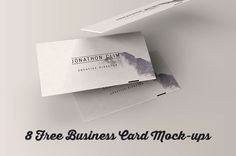 8 free business card mock-up templatesfrom Wassim Awadallah and Themeraid. More amazing FREE itemshere! With this freebie you get: adobe photoshop*.psd file very easy to customize and edit in Ad...