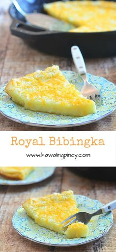 Royal bibingka is a Filipino rice cake commonly served during the Christmas season; made with glutinous rice flour and coconut milk, this is a delicious Gluten-free treat to enjoy anytime of the year