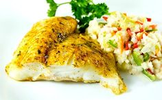 Mild, Flaky Grain-fed Catfish This native US species has been farmed in the south for generations now. Our catfish portions are naturally raised in North Carolina, and cook up mild, white and flaky. T