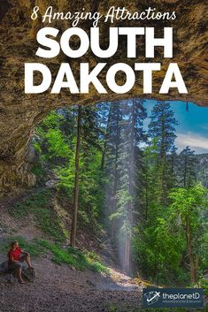 There are many things to do in South Dakota! We didn't expect much outside of Mount Rushmore, but there are many top attractions to see Cool Places To Visit, Places To Travel, Travel Destinations, Places To Go, South Dakota Vacation, South Dakota Travel, North Dakota, Koh Tao, United States Travel