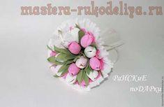 Мастер-класс по букетам из конфет: Тюльпаны с Рафаэлло