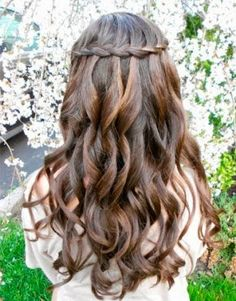 My hair style for my school dance