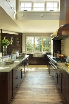 Kitchen With Cherry Cabinets And Hickory Floors Kitchen Ideas Pinterest Paint Colors