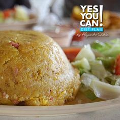 Mofongo - A healthy option for your Yes You Can! Diet Plan Lunch