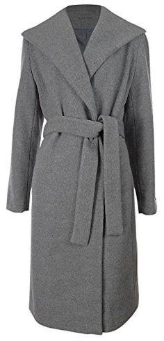 Calvin Klein Women's Shawl Wool Blend Belted Coat (6, Tin) Calvin Klein http://www.amazon.com/dp/B00LEQFR16/ref=cm_sw_r_pi_dp_8Ou8vb1VRTX22