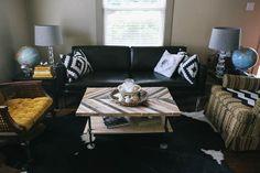 Ariele Alasko Inspired DIY Coffee Table by Delightfully Tacky, via Flickr