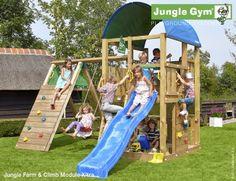 Jungle Farm Shown with a Climb Module Xtra