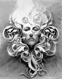 """Résultat de recherche d'images pour """"acanthus drawing"""""""