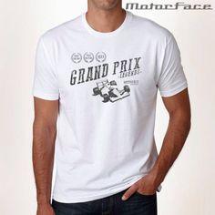 F1 Legends, Grand Prix, Masc, White T