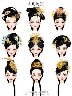 微博 Character Inspiration, Character Art, Character Design, Historical Costume, Historical Clothing, Geisha, Historical Hairstyles, Deviantart Drawings, Traditional Hairstyle