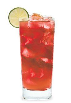 LEMON-TASIA  Ingredients:  •1 Part DeKuyper® Cranberry  •Lemonade.  Instructions:  Pour over ice and fill with lemonade  Garnish with lemon wedge