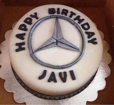 Mercedes car cake. Like us: www.facebook.com/sweetbitesbykari