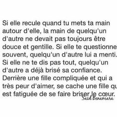 Plus que fatiguée,lasse . Bad Quotes, Words Quotes, Love Quotes, Father Quotes, French Quotes, Sad Love, Pretty Words, Some Words, Quotations