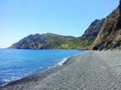 Einsamer Strand in Chios