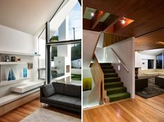 Two more views of the dazzling seaview house, new zealand