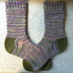 You have to see 2016 Knit-Along Smocked Guernsey Sock by Pixie Brearley!