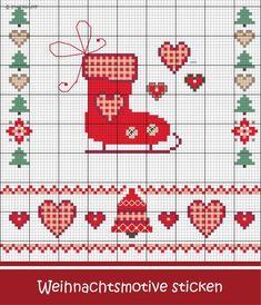 Schöne Motive rund um Weihnachten sticken #Sticken #Kreuzstich / #Weihnachten #Embroidery #Crossstitch / #Christmas #ZWEIGART