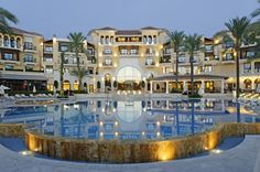 The luxury 5 Star Intercontinental hotel on Mar Menor Golf Resort Spain. http://www.marmenorresort.co.uk